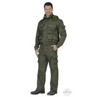 ТИГР костюм летний, куртка, брюки (тк.смесовая Рип-стоп) олива