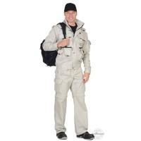 ТИГР костюм, куртка, брюки (тк. Rodos 245) Молочный