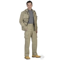 ТИГР костюм летний, куртка, брюки песочный тк. Rodos (245 гр/кв.м)