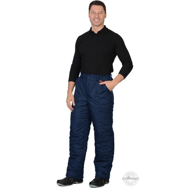 ЕВРОПА брюки утепленные синие