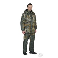 "ГОРКА костюм зимний, куртка дл., брюки (тк.CROWN-230) КМФ ""Темный лес"""