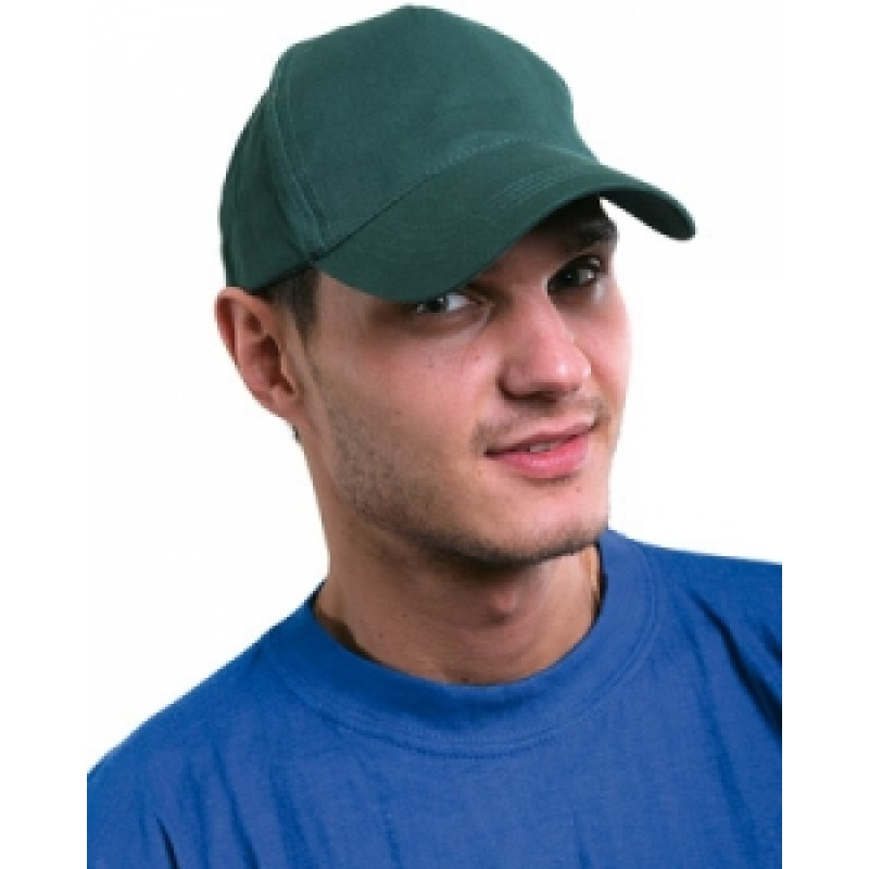 БЕЙСБОЛКА кепка зелёная