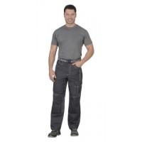 ПРЕСТИЖ брюки цв.т.серый, тк.Rodos (245гр.кв.м)