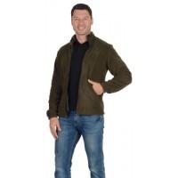 Куртка флисовая 260 г/кв.м. мужская оливковая