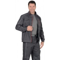 АЛЕКС куртка летняя мужская темно-серая