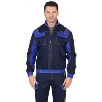 КАРАТ куртка т.синяя с васильковым
