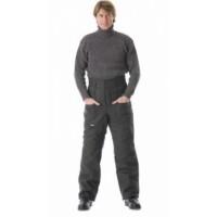 УТЕПЛЁННЫЕ брюки (диагональ, 1,2 кг ваты) чёрные