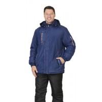 АЛЕКС куртка зимняя, мужская, цв. т-синий