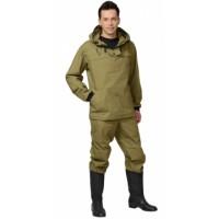 АНТИГНУС костюм противоэнцефалитный, куртка, брюки (п-но палаточное) хаки