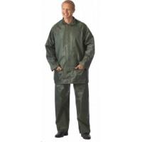 ЛИВЕНЬ костюм нейлоновый, куртка, брюки зелёный