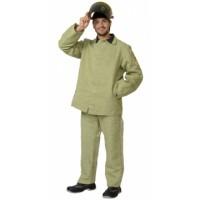 СВАРЩИКА костюм, куртка, брюки брезентовый
