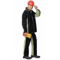 СВАРЩИКА костюм, куртка, брюки брезентовый со спилком (2,7 кв.м) тип Б