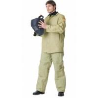 СВАРЩИКА костюм, куртка, брюки брезентовый с налокотниками и наколенниками