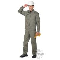 ДАЛЛАС костюм, куртка, п/к, цв.оливковый