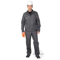 ДАЛЛАС костюм, куртка, п/к, цв.серый