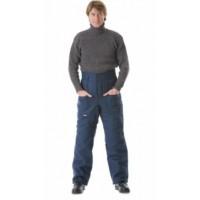 УТЕПЛЁННЫЕ брюки (диагональ, 1,2 кг ваты) синие