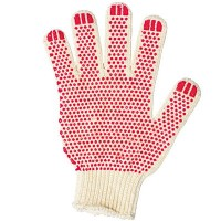 ТОЧКА перчатки хб с ПВХ Стандарт 4-х нитка
