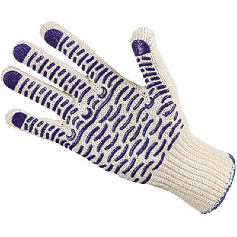 ВОЛНА перчатки хб с ПВХ Экстра 5-ти нитка
