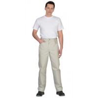 КЛАССИКА брюки цв.молочный тк.Rodos (245гр.кв.м)