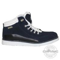 МЕГА ботинки синие замша (10 пар)
