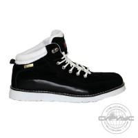МЕГА ботинки черные замша (10 пар)
