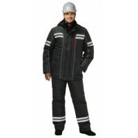 ГАЛАКТИКА костюм зимний, куртка, брюки, т.серый и СОП