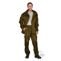 ГОРКА костюм летний, куртка, брюки (п-но палаточное), отделка хаки