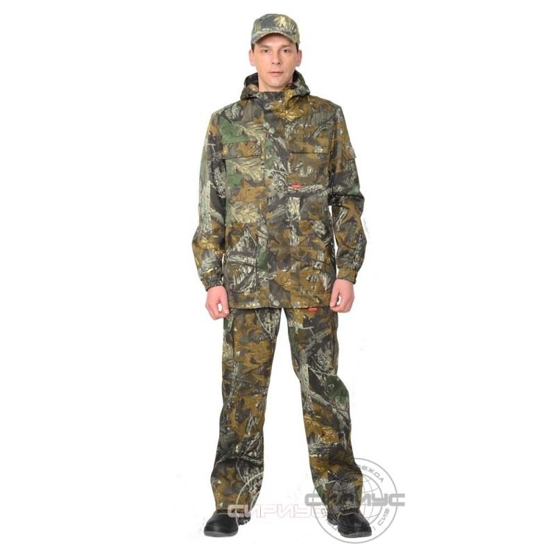 "ГОРИЗОНТ костюм, куртка дл., брюки КМФ ""Темный лес"""