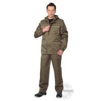 ГЕОЛОГ костюм летний, куртка, брюки (тк.CROWN-230) хаки