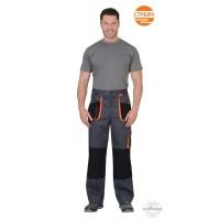 МАНХЕТТЕН брюки т.серые с оранжевым и черным
