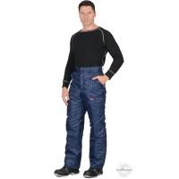 РОСТ брюки темно-синие демисезонные