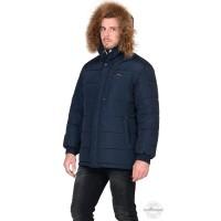 ФОРВАРД куртка зимняя, мужская, темно-синяя