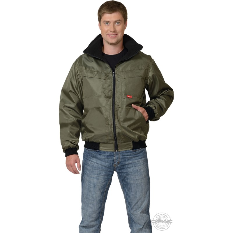 ПИКНИК куртка тк. Оксфорд хаки