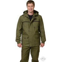 ГЕО куртка-штормовка п-но палаточное хаки