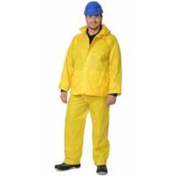 ЛИВЕНЬ костюм нейлоновый желтый (куртка, брюки) в индивидуальной упаковке