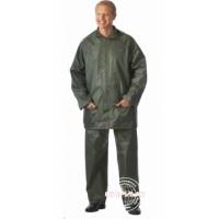 ЛИВЕНЬ костюм нейлоновый зелёный (куртка, брюки) в индивидуальной упаковке