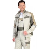 КАСПИЙ куртка молочная с оливой и песочным и СОП Тк. Rodos