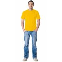 Футболка жёлтая плотность 160 г/кв.м., х/б-100 %