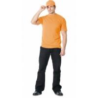 Футболка оранжевая плотность 160 г/кв.м., х/б-100 %