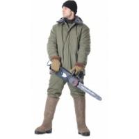 ЗИМА куртка дл.,(полотно палаточное, ватин) оливковая