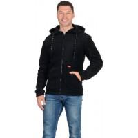 МЕРКУРИЙ куртка флисовая цв. черный