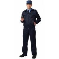 СИРИУС-АЛЬФА костюм, куртка, брюки (тк. смесовая) чёрный