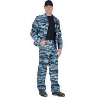 ВЫМПЕЛ костюм, куртка, брюки (тк. смесовая) КМФ серый вихрь