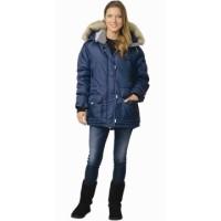 АЛЯСКА куртка женская синяя