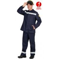 ГЕРКУЛЕС костюм сварщика летний, куртка, брюки темно-синий и СОП