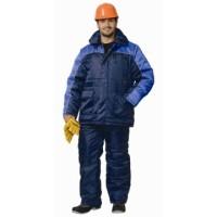БАЛТИКА костюм, куртка дл., полукомбинезон тёмно-синий с васильковым