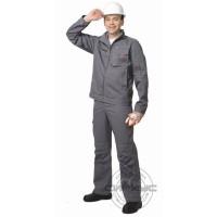 СИРИУС-ДАЛЛАС костюм летний, куртка короткая, брюки серый