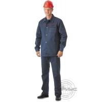СИРИУС-ИМПУЛЬС костюм, куртка, брюки синий с красным кантом