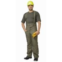 ЗИМА брюки (полотно палаточное, ватин) оливковые