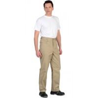 КЛАССИКА брюки цв.песочный тк.Rodos (245гр.кв.м)